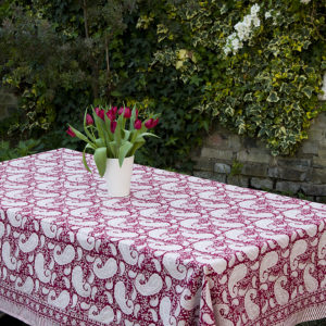Block Printed Tablecloths