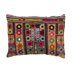 Embroidered Rajasthani Cushion Covers with pad