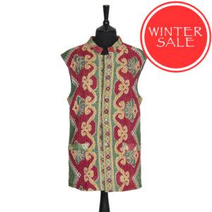 Kantha Waistcoats