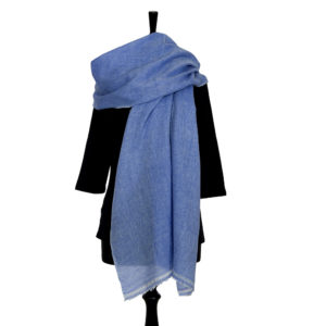 Merino Wool with Cashmere Scarves