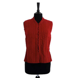 Cotton Quilted Short Waistcoats