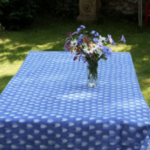 Fine Cotton Block Printed Tablecloths